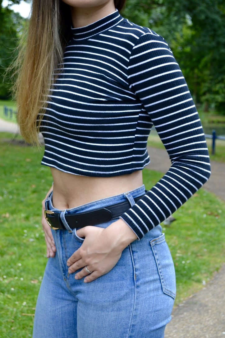 Casual outfit: Topshop Top and Asos Jeans